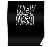 HEY USA Poster