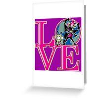 Irken LOVE Greeting Card