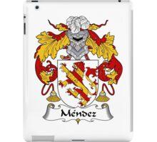 Mendez Coat of Arms/Family Crest iPad Case/Skin