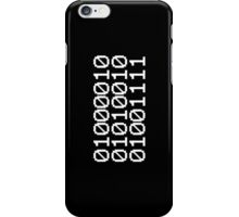 BINARY BRO iPhone Case/Skin