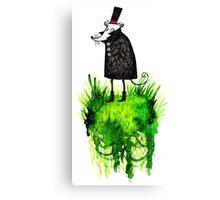 The Little Gentleman Mouse Canvas Print