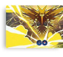 Pokemon GO! - Team Instinct - Zapdos Canvas Print