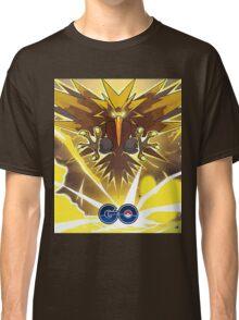 Pokemon GO! - Team Instinct - Zapdos Classic T-Shirt