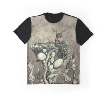 Wendigo sitting on a cliff Graphic T-Shirt