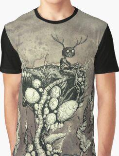 Wendigo sitting on a cliff Graphic T-Shirt