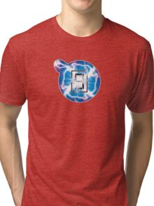 Mr Game and Watch Electric Judgement Tri-blend T-Shirt