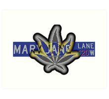 Mary Jane Lane - 420 Art Print