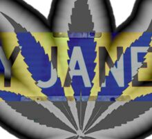 Mary Jane Lane - 420 Sticker