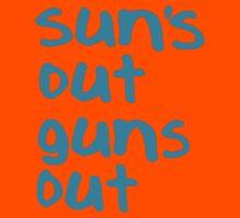 Sun's Out Guns Out - 22 Jump Street Kids Tee