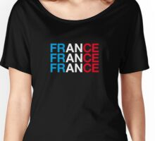 FRANCE Women's Relaxed Fit T-Shirt