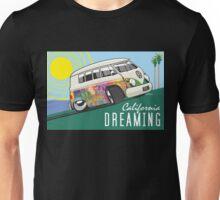 VW T1 cartoon California dreaming Unisex T-Shirt