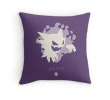 Pokemon Type - Ghost Throw Pillow