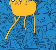 Adventure friends 2 Sticker