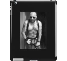 TROY -  HAIRY MUSCLE & LEATHER  iPad Case/Skin