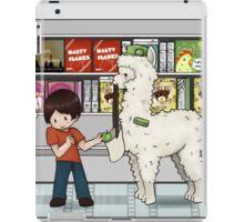 Alpaca your shopping! iPad Case/Skin