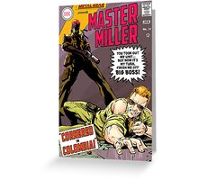 Master Miller #24 Greeting Card