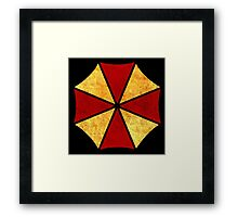 °GEEK° Umbrella Corporation Rust Logo Framed Print