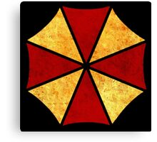 °GEEK° Umbrella Corporation Rust Logo Canvas Print