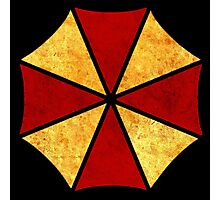 °GEEK° Umbrella Corporation Rust Logo Photographic Print