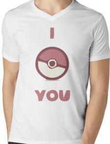 I luv U Mens V-Neck T-Shirt