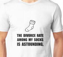 Sock Divorce Unisex T-Shirt