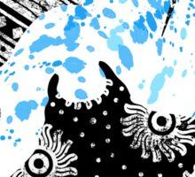 Patterned Ocean Manta Rays Sticker