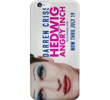 Darren in Hedwig (2) ~ Hedwig and the Angry Inch iPhone Case/Skin