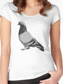 Pigeon Women's Fitted Scoop T-Shirt