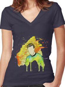 Star Trek - Kirk Speech Women's Fitted V-Neck T-Shirt
