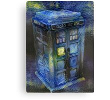 Tardis - Contrasts of Beauty Canvas Print