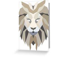 Lion Artwork Greeting Card