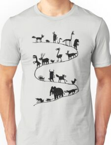The Parade of the Animals Unisex T-Shirt