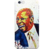 BB King portrait iPhone Case/Skin