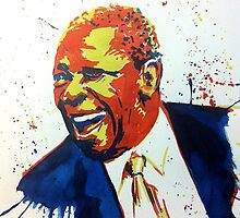 BB King portrait by geertvanleeuwen