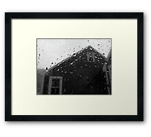 The View of the Locked Away Framed Print