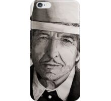 Bob Dylan portrait iPhone Case/Skin