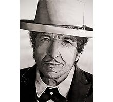 Bob Dylan portrait Photographic Print