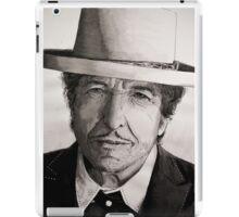 Bob Dylan portrait iPad Case/Skin