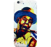 Buddy Guy portrait iPhone Case/Skin