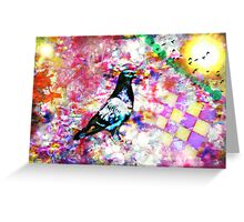 The colors of my dream (What do you see in the colors of your dreams?) Greeting Card