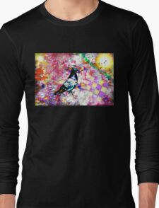 The colors of my dream (What do you see in the colors of your dreams?) Long Sleeve T-Shirt