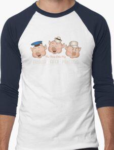 The Three Little Pigs 3 Men's Baseball ¾ T-Shirt