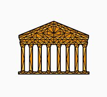 Geometric Pantheon in colour with black outline Unisex T-Shirt