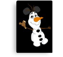 Sidekicks at Disneyland - Olaf Canvas Print