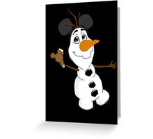 Sidekicks at Disneyland - Olaf Greeting Card
