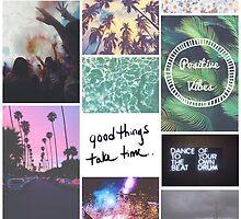 Pale Tumblr Collage by Alisha Mumby