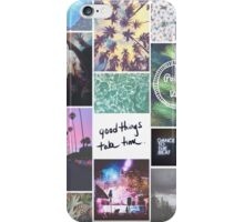 Pale Tumblr Collage iPhone Case/Skin