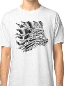Stripes and Lion Head Classic T-Shirt
