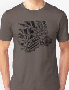 Stripes and Lion Head Unisex T-Shirt