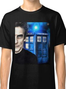 Doctor Who - Portrait of 12th Classic T-Shirt